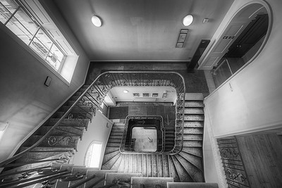Stamp Stairs at Somerset House